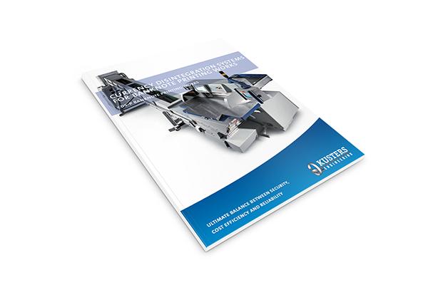 preview leaflet Banknote printing waste destruction