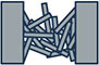 shred collection icon